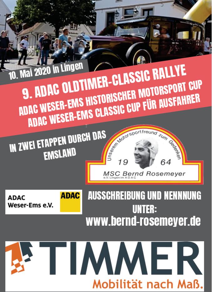 9. ADAC Classic-Rallye 2020